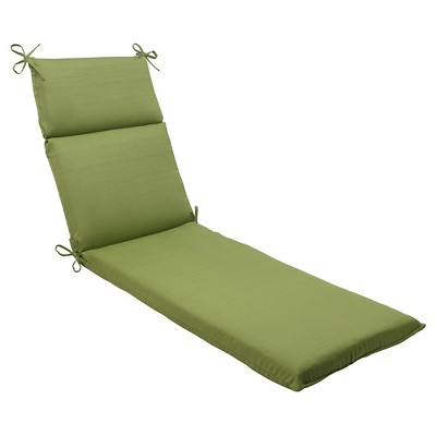 outdoor chaise lounge cushion green forsyth solid