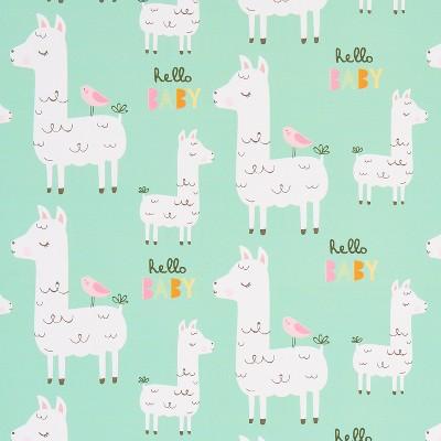 llama hello baby gift