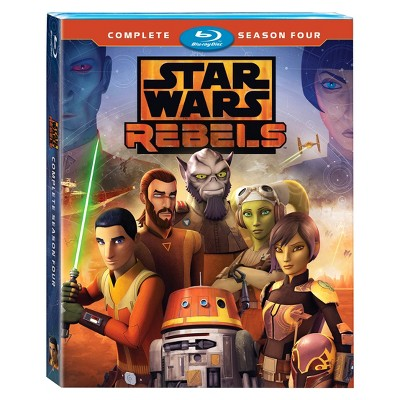 Star Wars: Rebels Complete Season 4 (Blu-Ray)