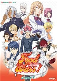 Food Wars:Complete Collection (DVD)