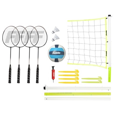 Franklin Sports Advanced Badminton/ Volleyball Set