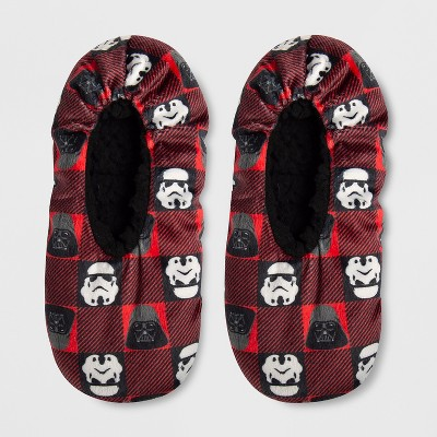 Boys' Star Wars Slipper Socks - Red
