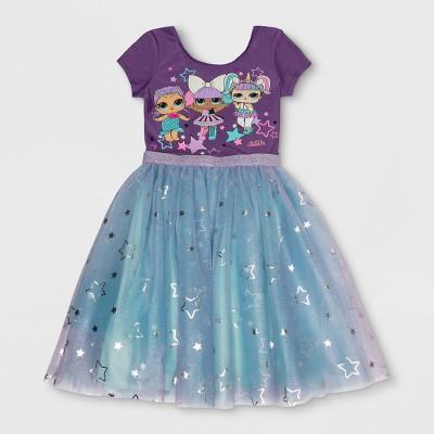 Girls' L.O.L. Surprise! Costume Dress - Purple