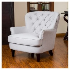 Tafton Club Chair Dorm Chairs At Kohl S Tufted Fabric Natural Christopher Knight Home 1 More