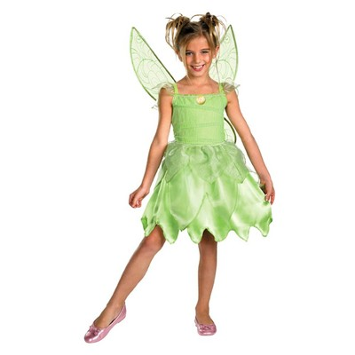 Tink and the Fairy Rescue Girls' Tinkerbell Classic Costume