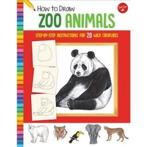 zoo easy animals draw simple wild shape step learn creatures target wid