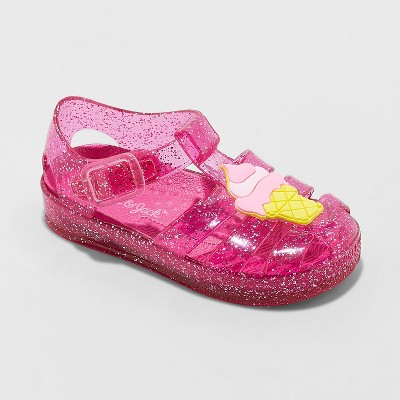 Toddler Girls' Isha Embellished Jelly Fisherman Sandals - Cat & Jack™ Pink