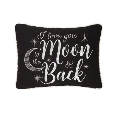 c f home 14 x 18 to the moon back pillow
