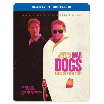 War Dogs - Steelbook (Blu-ray + Digital)