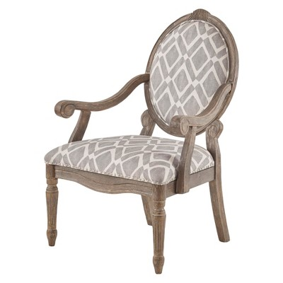 Hudson Exposed Wood Arm Chair
