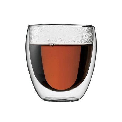 Bodum Pavina 8oz 2pk Double Wall Glasses