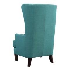 Teal Club Chair Posture Support Desk Karson High Back Upholstered Picket House Furnishings Target