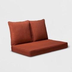 Replacement Cushions For Sleeper Sofa Drexel Sofas Madaga 3pc Outdoor Loveseat Cushion Set Red Grand Basket Target