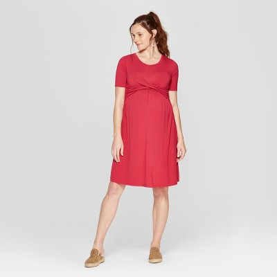 Maternity Twist Knit Dress - Isabel Maternity by Ingrid & Isabel™