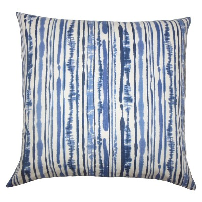"""Blue Print Square Throw Pillow (20""""x20"""") - The Pillow Collection"""