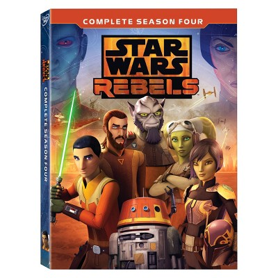 Star Wars: Rebels Complete Season 4 (DVD)
