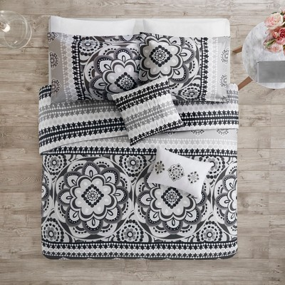 5pc Patsy Reversible Print Comforter Set