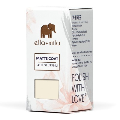 Ella + Mila Nail Care Matte - ly in Love - .45oz