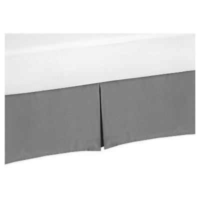 Gray Bed Skirt - Sweet Jojo Designs®