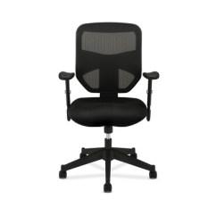 Black Computer Chair High End Bean Bag Prominent Back Work Mesh Hon Target
