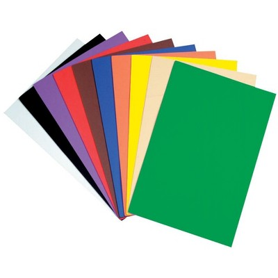 Wonderfoam Non Toxic Foam Sheet 12 X 18 In Assorted Bright Color Set Of 10 Target