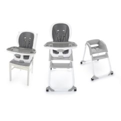 Ingenuity High Chair 3 In 1 Cover Sams Folding Chairs Smartclean Trio Elite Slate Target
