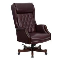 Ergonomic Chair Bd Coleman Oversized Quad Executive Swivel Office Burgundy Leather Flash Furniture Target