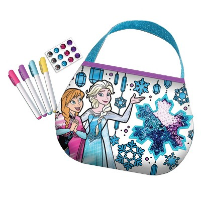 Disney Frozen Color N Style Sequins Purse Activity Kit