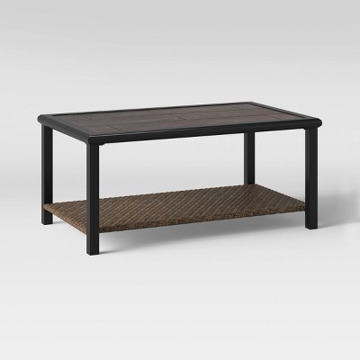 modern caning patio coffee table courtyard creations