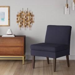 Modern Slipper Chair Antique Vanity Winnetka Navy Project 62 Target