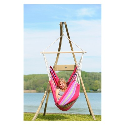 hanging chairs with stand for bedrooms desk chair reviews atlas wood byer of maine target