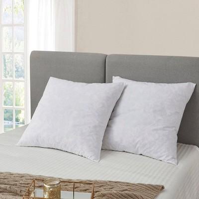 euro 2pk feather bed pillow serta
