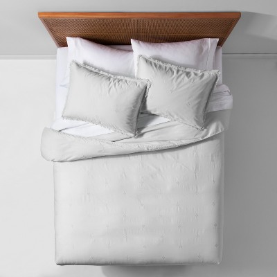 Garment Washed Embroidered Duvet Cover Set - Opalhouse™