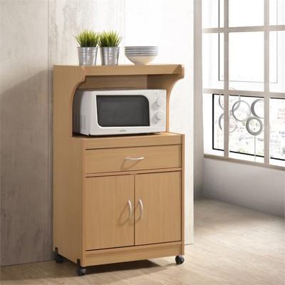 kitchen microwave cart target