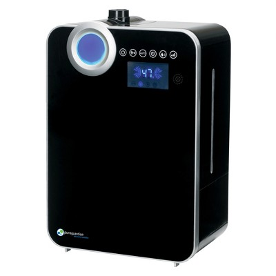 PureGuardian 120-Hour Elite Ultrasonic Warm and Cool Mist with Digital Smart Mist Sensor Humidifier H8000B