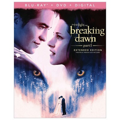 Twilight Saga, The: Breaking Dawn - Part 1 (Blu-Ray + DVD + Digital)