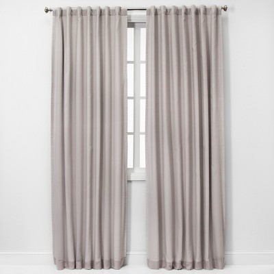 Voile Overlay Blackout Curtain Panels - Threshold™