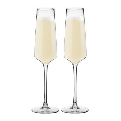 9.5oz 2pk Estate Champagne Glasses - Cathy's Concepts