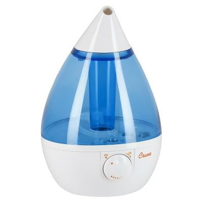 Crane Drop Ultrasonic Cool Mist Humidifier 1.0 Gallon