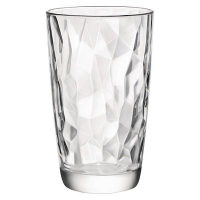 Bormioli Rocco Diamond Cooler 16oz Set of 6 - Clear