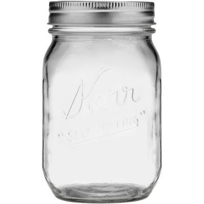Kerr 1 Pint Glass Jar - Regular Mouth