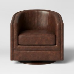 Brown Swivel Chair Walking Stick Seat Berwick Barrel Threshold Target
