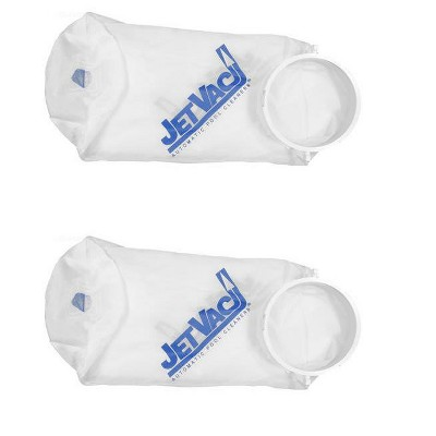 2) Pentair Jv32 Letro Jet Vac Swimming Pool Cleaner Fine Silt Bag Replacements