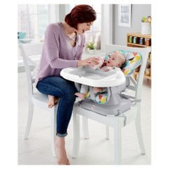Target Space Saver High Chair Gray And Yellow Accent Fisher Price Spacesaver Windmill