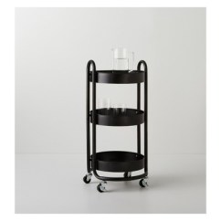 Rolling Cart For Kitchen Appliances Pay Monthly Round Metal Utility Made By Design Target
