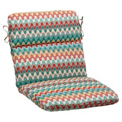 Target Chair Cushions Covers Basingstoke Outdoor Rounded Cushion Red Turquoise Chevron About This Item
