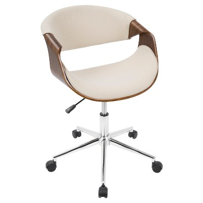 cool modern office chairs ikea stool chair curvo mid century lumisource target