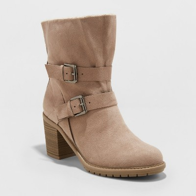 Women's Blinda Heeled Fashion Boots - A New Day™