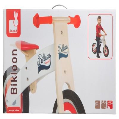 Janod Bikloon Red&White Balance Bike