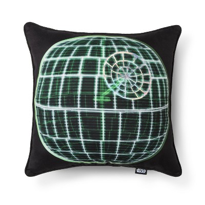 Death Star Rogue One Square Pillow - Star Wars®